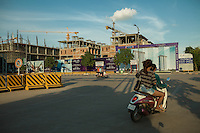 October 17, 2013 - Phnom Penh. Koh Pich Island, one of the recently renewed area of Phnom Penh. © Thomas Cristofoletti / Ruom