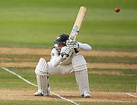 NZ's Daniel Flynn ducks a bouncer during day four of the 3rd test between the New Zealand Black Caps and India at Allied Prime Basin Reserve, Wellington, New Zealand on Monday, 6 April 2009. Photo: Dave Lintott / lintottphoto.co.nz.