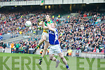 Alan McNamara Castlegregory and  Paul Lydon Kiltimagh in the All Ireland Junior Club Championship at Croke park on Sunday February 14 2010...