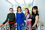 Aishling O'Connell, Sophie Thompson, Tamara Goggin and Claudia Murphy, models who took part in the New Collections Luncheon & Show at Aghadoe Heights Hotel & Spa, Killarney, on Sunday last.