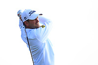 Bernd Wiesberger (AUT) on the 5th tee during Round 3 of the Betfred British Masters 2019 at Hillside Golf Club, Southport, Lancashire, England. 11/05/19<br /> <br /> Picture: Thos Caffrey / Golffile<br /> <br /> All photos usage must carry mandatory copyright credit (&copy; Golffile | Thos Caffrey)