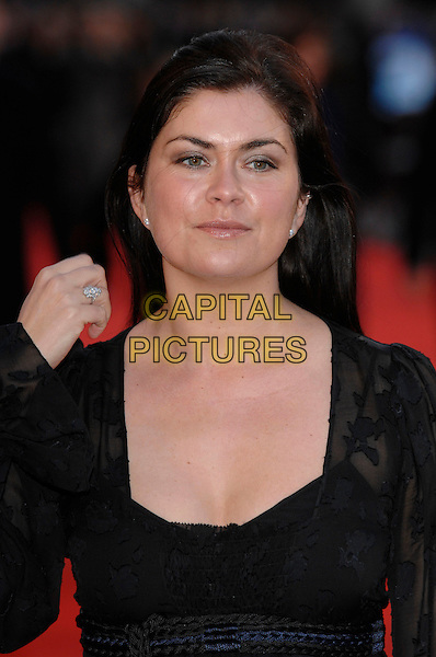 "AMANDA LAMB.""Miss Potter"" World Film Premiere.Empire cinema, Leicester Square.London, England  3rd December 2006 .portrait headshot.CAP/PL.©Phil Loftus/Capital Pictures"