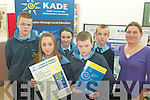 WORKSHOPS: At the KADE Development Education workshops at the Tralee Education Centre on Friday last were St Joseph's Ballybunnion students, front l-r: Coleen Kennelly, Shane Lawlor, Back l-r: Kevin Keane, Louise Lawlor, Brendan Kennelly and Ciara O'Connor of KADE.   Copyright Kerry's Eye 2008