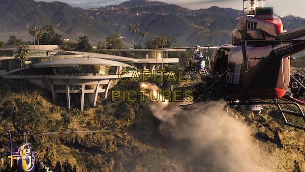 SCENE<br /> in Iron Man 3 (2013) <br /> *Filmstill - Editorial Use Only*<br /> CAP/FB<br /> Supplied by Capital Pictures