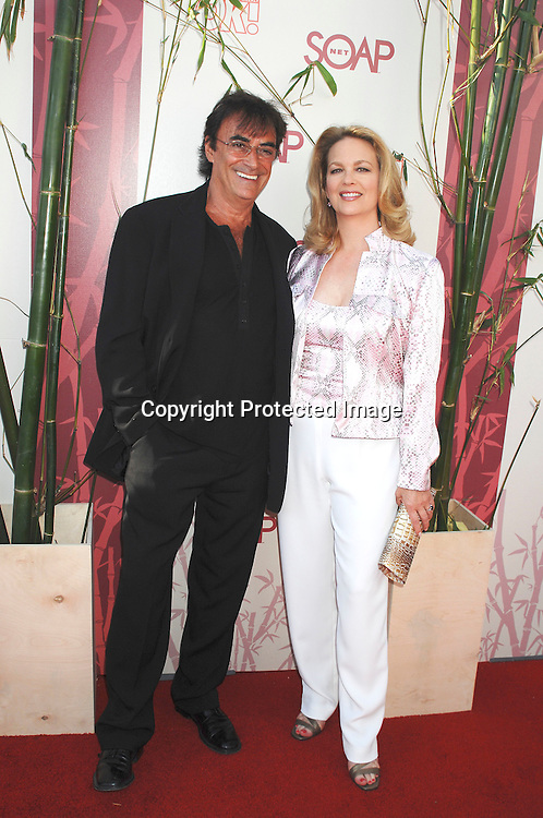 "Thaao Penghis and Leanne Hunley..arriving at The SOAPnet's ""Night Before Party"" for the ..nominees of the 2007 Daytime Emmy Awards on            June 14, 2007 at Boulevard3 in Hollywood, California...Robin Platzer, Twin Images........212-935-0770"