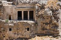 Asie/Israël/Judée/Jérusalem:Tombeau des Bnei Hezir à Jérusalem