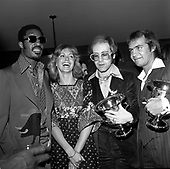 Elton John; Stevie Wonder; Olivia Newton John<br /> Photo Credit: James Fortune/AtlasIcons.com