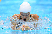 PICTURE BY ALEX BROADWAY /SWPIX.COM - 2012 London Paralympic Games - Day Ten - Swimming, Aquatic Centre, Olympic Park, London, England - 08/09/12 - Karolina Pelendritou of Greece competes in the Women's 100m Breaststroke SB12 Heats.