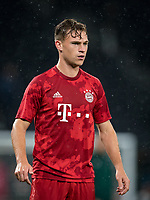 Joshua Kimmich of Bayern Munich pre match during the UEFA Champions League group match between Tottenham Hotspur and Bayern Munich at Wembley Stadium, London, England on 1 October 2019. Photo by Andy Rowland.