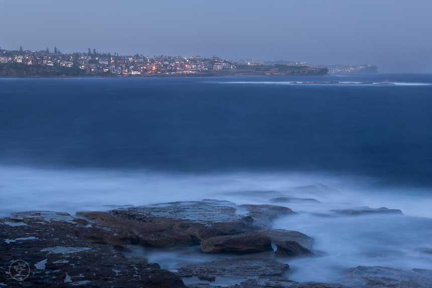 Coogee evening long exposure.