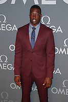 New York, NY - June 10 :Jason Pierre-Paul attends the OMEGA Speedmaster Dark Side<br /> of the Moon Launch Event held at Cedar Lake on June 10, 2014 in<br /> New York City. Photo by Brent N. Clarke / Starlitepics