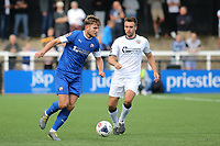 Laurence Maguire of Chesterfield in action during Bromley vs Chesterfield, Vanarama National League Football at the H2T Group Stadium on 7th September 2019