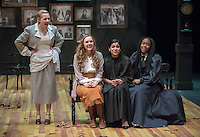 Dress rehearsal for the Occidental College Department of Theater's production of Anton Chekhov's Three Sisters, adapted by Sarah Ruhl and directed by Edgerton Guest Artist Juliette Carrillo. Keck Theater, Nov. 18, 2015.<br /> (Photo by Marc Campos, Occidental College Photographer)