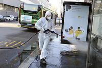 virus, sanificazione delle strade