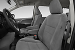 Front seat view of a 2017 Toyota Sienna LE 5 Door Mini Van front seat car photos