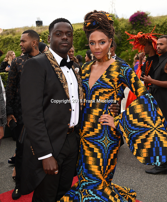 SANTA MONICA - JUNE 1: Daniel Kaluuya attends the 3rd Annual Wearable Art Gala at Barker Hangar on June 1, 2019 in Santa Monica, California. (Photo by Frank Micelotta/PictureGroup)
