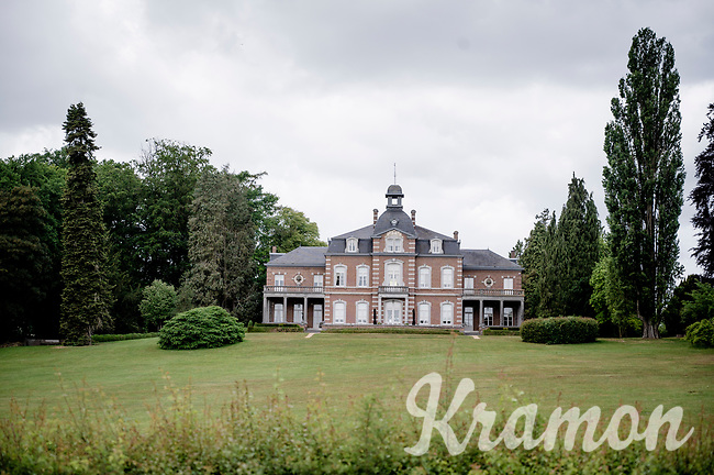 chateau up the Kolmontberg <br /> <br /> Limburg cycling hotspots<br /> Cycling In Flanders <br /> Flanders Tourist Board<br /> <br /> ©kramon