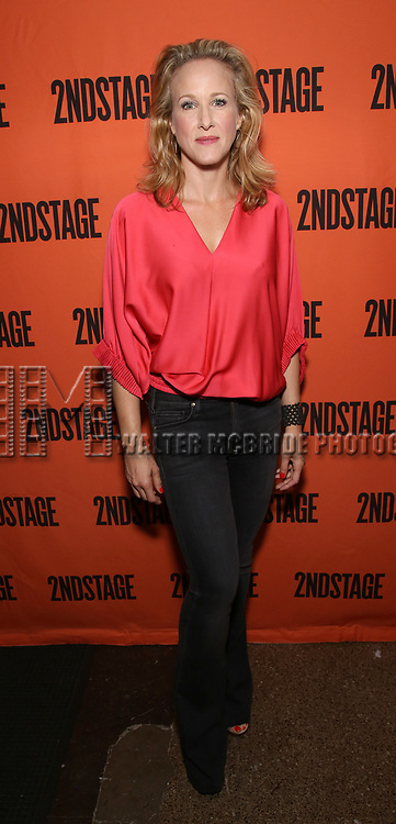 Katie Finneran attends the Opening Night performance of 'A Parallelogram'  at The Second Stage Theatre on August 2, 2017 in New York City.
