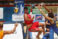 Juegos Mundiales 2013 Beach Handball Croacia vs Ukrania