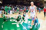 S&ouml;dert&auml;lje 2015-04-10 Basket SM-Semifinal 5 S&ouml;dert&auml;lje Kings - Sundsvall Dragons :  <br /> Sundsvall Dragons Daniel Eliasson deppar efter matchen mellan S&ouml;dert&auml;lje Kings och Sundsvall Dragons <br /> (Foto: Kenta J&ouml;nsson) Nyckelord:  S&ouml;dert&auml;lje Kings SBBK T&auml;ljehallen Sundsvall Dragons depp besviken besvikelse sorg ledsen deppig nedst&auml;md uppgiven sad disappointment disappointed dejected