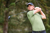 Thomas Pieters (BEL) watches his tee shot on 8 during round 3 of the World Golf Championships, Mexico, Club De Golf Chapultepec, Mexico City, Mexico. 3/4/2017.<br /> Picture: Golffile | Ken Murray<br /> <br /> <br /> All photo usage must carry mandatory copyright credit (&copy; Golffile | Ken Murray)