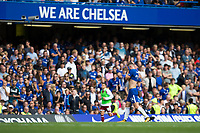Chelsea's Gary Cahill looks dejected after being sent off<br /> <br /> Photographer Craig Mercer/CameraSport<br /> <br /> The Premier League - Chelsea v Burnley - Saturday August 12th 2017 - Stamford Bridge - London<br /> <br /> World Copyright &copy; 2017 CameraSport. All rights reserved. 43 Linden Ave. Countesthorpe. Leicester. England. LE8 5PG - Tel: +44 (0) 116 277 4147 - admin@camerasport.com - www.camerasport.com