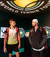 Rotterdam, The Netherlands, 17 Februari, 2018, ABNAMRO World Tennis Tournament, Ahoy, Tennis, Mate Pavic (CRO) / Oliver Marach (AUT)<br /> <br /> Photo: www.tennisimages.com