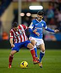 MADRID, ESPAÑA . FUTBOL <br /> Partido de la liga BBVA entre el At.Madrid vs Ath BIlbao . 3/11/2013<br /> Atletico Madrid's midfielder Koke<br /> PHOTOCALL3000/ Dani Pozo