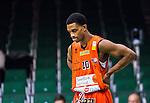 S&ouml;dert&auml;lje 2015-01-17 Basket Basketligan S&ouml;dert&auml;lje Kings - Bor&aring;s Basket :  <br /> Bor&aring;s James JJ Miller  ser nedst&auml;md ut under matchen mellan S&ouml;dert&auml;lje Kings och Bor&aring;s Basket <br /> (Foto: Kenta J&ouml;nsson) Nyckelord:  Basket Basketligan S&ouml;dert&auml;lje Kings SBBK T&auml;ljehallen Bor&aring;s depp besviken besvikelse sorg ledsen deppig nedst&auml;md uppgiven sad disappointment disappointed dejected portr&auml;tt portrait