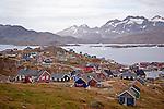 Tasiilaq Village Greenland