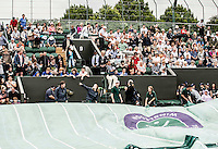 Ambience<br /> <br /> Tennis - The Championships Wimbledon  - Grand Slam -  All England Lawn Tennis Club  2013 -  Wimbledon - London - United Kingdom - Thursday 27th June  2013. <br /> &copy; AMN Images, 8 Cedar Court, Somerset Road, London, SW19 5HU<br /> Tel - +44 7843383012<br /> mfrey@advantagemedianet.com<br /> www.amnimages.photoshelter.com<br /> www.advantagemedianet.com<br /> www.tennishead.net