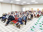 The large crowd who turned out for the official opening of the new Associated Bridge Clubs of Drogheda (ABCD) headquaters on the Fair Green. Photo:Colin Bell/pressphotos.ie