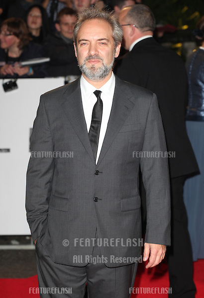 Sam Mendes arriving for the Royal World Premiere of 'Skyfall' at Royal Albert Hall, London. 23/10/2012 Picture by: Alexandra Glen / Featureflash
