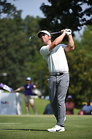 Paul Casey (GBR) watches his tee shot on 8 during round 3 of the WGC FedEx St. Jude Invitational, TPC Southwind, Memphis, Tennessee, USA. 7/27/2019.<br /> Picture Ken Murray / Golffile.ie<br /> <br /> All photo usage must carry mandatory copyright credit (© Golffile | Ken Murray)