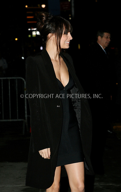 WWW.ACEPIXS.COM . . . . .  ....February 15 2010, New York City....TV personality Nicole Richie made an appearance on 'The Late Show with David Letterman' on February ....Please byline: NANCY RIVERA- ACEPIXS.COM.... *** ***..Ace Pictures, Inc:  ..Tel: 646 769 0430..e-mail: info@acepixs.com..web: http://www.acepixs.com