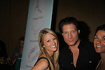 """The Bold and The Beautiful Kim Matula is a presenter and poses with """"her dad"""" on B&B Sean Kanan in the gifting suite at the 38th Annual Daytime Entertainment Emmy Awards 2011 held on June 19, 2011 at the Las Vegas Hilton, Las Vegas, Nevada. (Photo by Sue Coflin/Max Photos)"""
