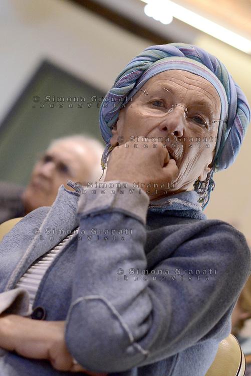 Roma, 19 Marzo 2015<br /> Convegno sull'eutanasia organizzatoi dall'Associazione Luca Coscioni &quot;liberi fino alla fine:il Parlamento si faccia vivo&quot;.<br /> Nella foto Emma Bonino