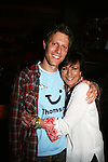 "As The World Turns' Eric Steffer Stevens ""Reid Oliver"" and Colleen Zenk Pinter ""Barbara Ryan"" at Trent Dawson's 6th Annual Martinis With Henry on April 17, 2010 at Latitude, New York City, New York. (Photo by Sue Coflin/Max Photos)"