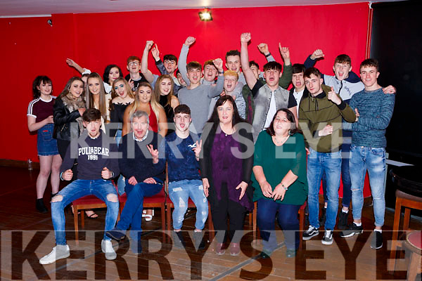 Ruairi O'Keeffe Lisivigeen Killarney celebrated his 18th birthday with his family and friends in K Town bar on Saturday night