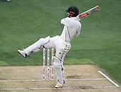 23rd March 2018, Eden Park, Auckland, New Zealand; International Test Cricket, New Zealand versus England, day 2;  Henry Nicholls batting