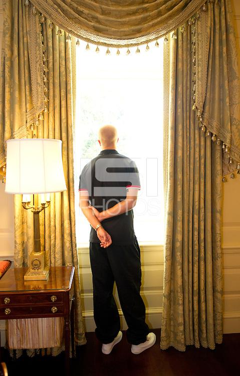 Washington DC - Tuesday , May 29, 2012: White House tour with the USA Men's National Team.