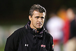14 November 2008: Maryland's head coach Sasho Cirovski. The University of Maryland defeated Boston College 1-0 at WakeMed Stadium at WakeMed Soccer Park in Cary, NC in a men's ACC tournament semifinal game.