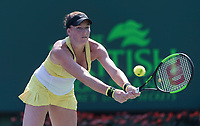 MADISON BRENGLE (USA)<br /> <br /> MIAMI OPEN, CRANDON PARK, KEY BISCAYNE, FLORIDA, USA<br /> <br /> &copy; TENNIS PHOTO NETWORK