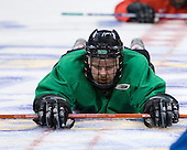 Ryan Duncan (North Dakota 16) - The 2008 Frozen Four participants practiced on Wednesday, April 9, 2008, at the Pepsi Center in Denver, Colorado.