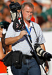 AP staffer Chris O'Meara during the University of Miami vs the University of South Florida football game at Raymond James Stadium in St. Petersburg, Florida on Saturday, November 19, 2011.