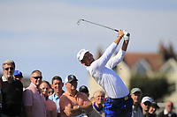 Andy Ogletree (USA) on the 2nd tee during Day 2 Singles at the Walker Cup, Royal Liverpool Golf CLub, Hoylake, Cheshire, England. 08/09/2019.<br /> Picture Thos Caffrey / Golffile.ie<br /> <br /> All photo usage must carry mandatory copyright credit (© Golffile | Thos Caffrey)