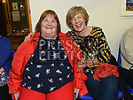 Imelda Hill and Mona McLoughlin at the Social evening in Drumshallon Forge. Photo:Colin Bell/pressphotos.ie