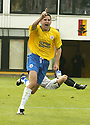 01/09/2007       Copyright Pic: James Stewart.File Name : sct_jspa08_partick_v_hamilton.STUART TAYLOR SCORES CELEBRATES AFTER HE SCORES HAMILTON'S THIRD GOAL....James Stewart Photo Agency 19 Carronlea Drive, Falkirk. FK2 8DN      Vat Reg No. 607 6932 25.Office     : +44 (0)1324 570906     .Mobile   : +44 (0)7721 416997.Fax         : +44 (0)1324 570906.E-mail  :  jim@jspa.co.uk.If you require further information then contact Jim Stewart on any of the numbers above........