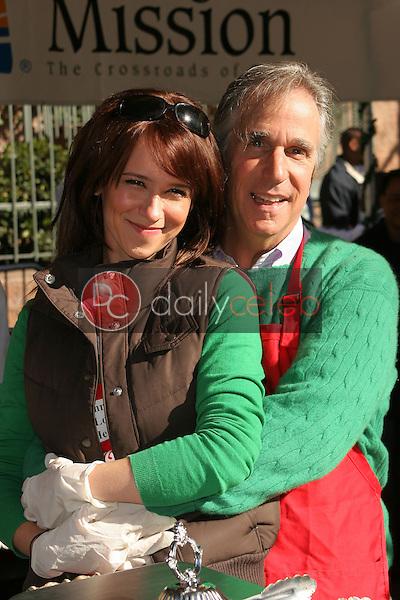 Jennifer Love Hewitt and Henry Winkler