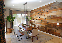 SAN DIEGO, CA - Feb. 9, 2017 - Shannon Weller of Tracy Lynn Studios designed this dining room at the Encinitas home of Michael and Michelle Guido. (Photo by K.C. Alfred/The San Diego Union-Tribune) . . . .